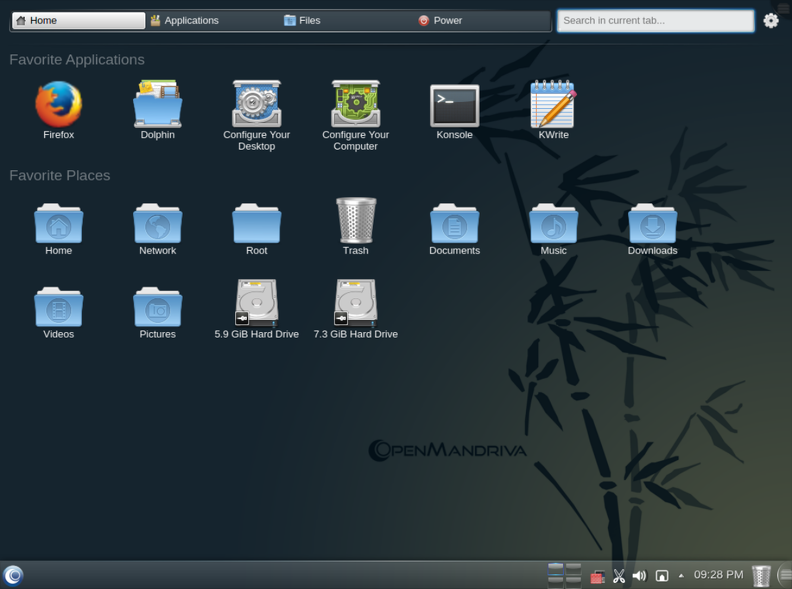 OpenMandriva Lx 2014, Alpha 2, (Actualizada) 20140227231820-d8eab7b8-me